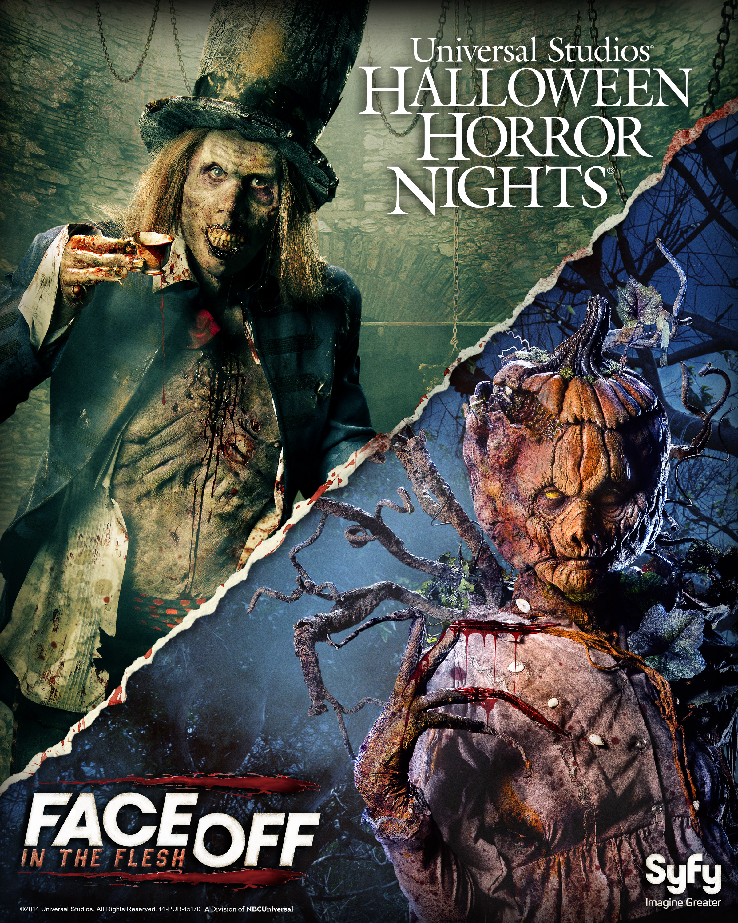 Face Off - Halloween Horror Nights 2014